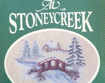 Vintage Christmas at Stoneycreek Book 5 - Includes 14 Cross Stitch Patterns