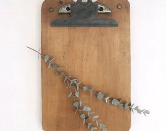 Vintage Clipboard, Rustic Industrial