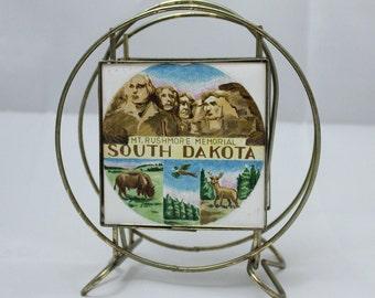South Dakota Souvenir Napkin Holder