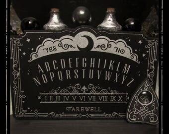 Mini Lunar Filigree Spirit Board - Ouija Board