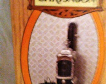 Chrysnbon Model Kit F-210, Antique Pot Belly Stove Kit, In Original Package, Doll House Furniture