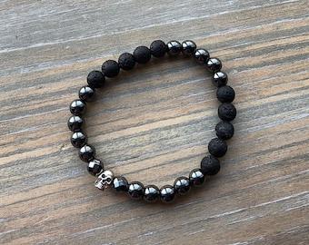 Diffuser bracelet | essential oil bracelet | aromatherapy bracelet | lava bead bracelet | diffuser  jewelry | healing bracelet | stretchy