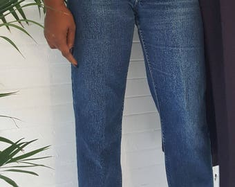 80's Classic Lee Mom Jeans// Size: 26