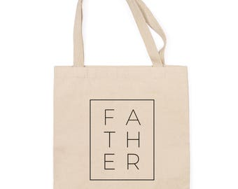 Father Boxed Tote Bag