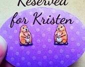 RESERVED Listing for Kristen J.