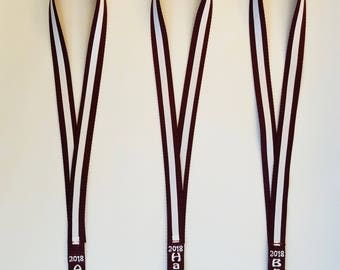 Lanyard,Personalized,Embroidered with Name/Date,Display Dance Pins,Competition Pins