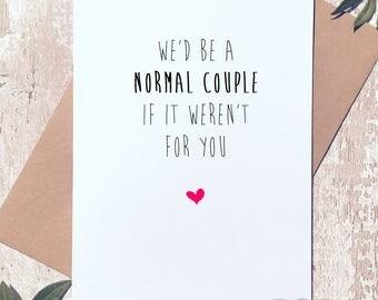 Funny anniversary card, birthday card boyfriend, valentines day card, Greeting Card, birthday card funny, birthday card girlfriend, funny ca
