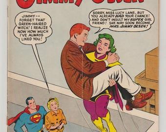 Superman's Pal Jimmy Olsen; Vol 1, 51, Silver Age Comic Book. VG (4.0). March 1961. DC Comics