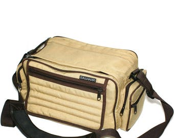 Cullmann Vintage Beige extra strong Gadget digital camera Bag