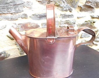 Beautiful Vintage 5pt Copper Watering Can.
