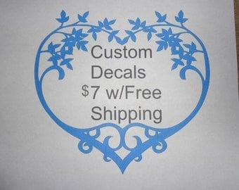 Create Your Own Vinyl Decal Custom Vinyl Decal Your Text - Custom made vinyl decals