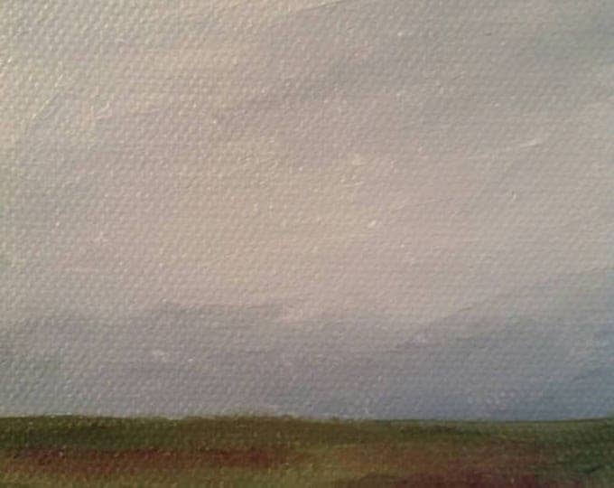 Lavender Fields - Oil Painting