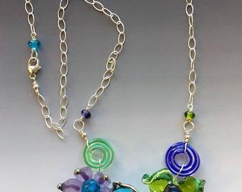 Reserved for Martha: Secret Garden Necklace