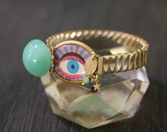 The Cyclone œil - Flexible Bracelet