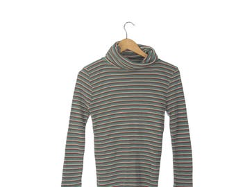 Bobbie Brooks Acrylic Striped Sweater