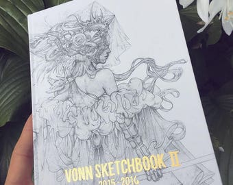 Vonn Sketchbook 2 | 2015 - 2016