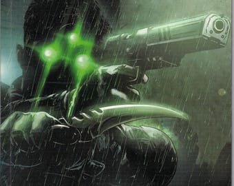 Dynamite Comics,Tom Clancy's Splinter Cell Echoes, Graphic Novel Collection
