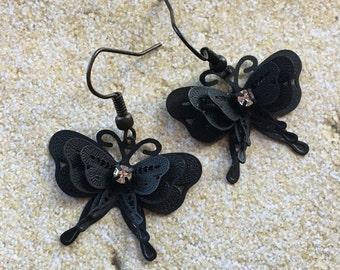 Butterfly Earrings, Gift For Her, Butterflies, Butterfly. Earrings