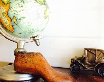 Wood Shoe Form, Vintage Shoe Form, Wood Shoe, Last Shoe Form, Vintage Wood