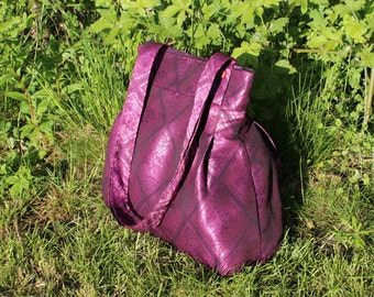 Pink Handbag, Shoulder Handbag, Pink Bag, Handbag, Gift for Her, Pink, Recycled Handbag, Make up Bag, Big Bag, Gift for Mom, Purse, Bag