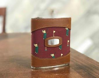Custom Leather Flask