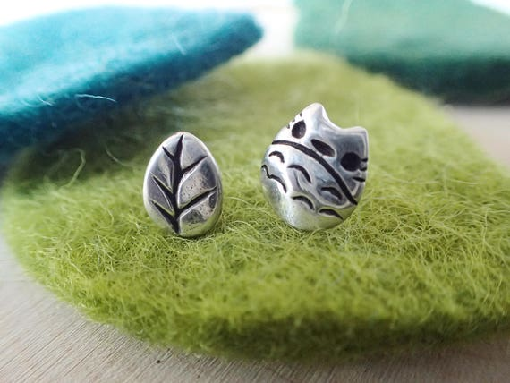 Totoro Earrings (Studio Ghibli Inspired)