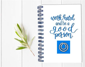 LARGE Monat Distributor Direct Sales MLM Multi-Level Marketing Planner - One Year Undated Fill in Calendar Notebook  -  Team Gift