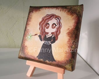 Bellatrix Lestrange (Harry Potter) - Small painting