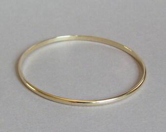 14k gold bracelet, solid gold bangle, solid gold bracelet, gold bangle bracelet, gold bangle band, 14k bangle bracelet, white gold bangle