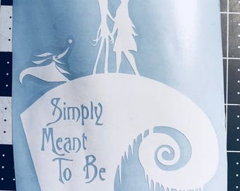 The Nightmare Before Christmas - Simply Meant to Be