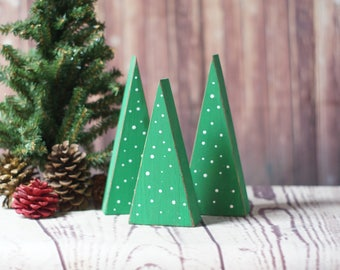small wooden trees rustic christmas tree primitive christmas decor christmas decorations christmas - Table Christmas Tree