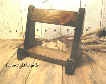 Wood IPad Stand, IPad Holder, Tablet Stand, IPad Stand, Docking Station,