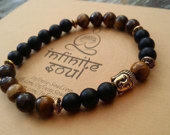 yoga bracelet men, spiritual bracelets for men, yoga gifts for men, yoga gifts him, spiritual jewelry, spiritual gift for him, gift fot him