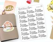 Lesson Plan Stickers - Script Stickers - Work Planner Stickers - Planner Stickers - Teacher Planner Stickers - 368