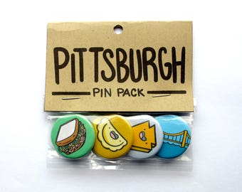 Pittsburgh Pin Pack