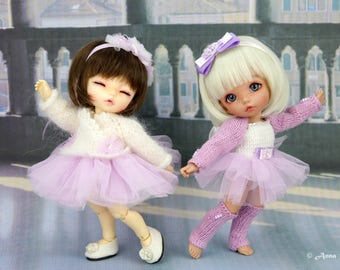 Ballet outfits for Pukifee & Lati Yellow dress /2 styles/