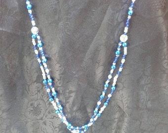 Midnight Blue Opera w/bracelet