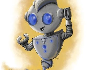 Robot // digital art