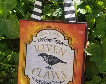 "Halloween Treat Bag ""Raven Claws"""