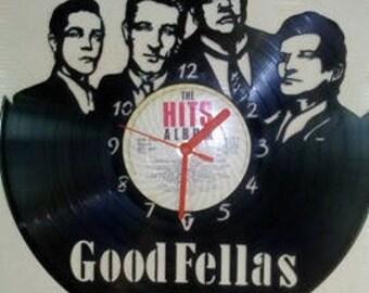 Goodfellas Vinyl LP Record Clock