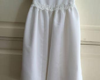 Christening Gown from a wedding gown