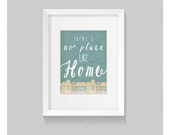 No Place Like Home - Print