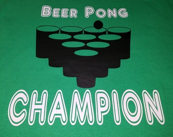 T-Shirt - Beer Pong Champion