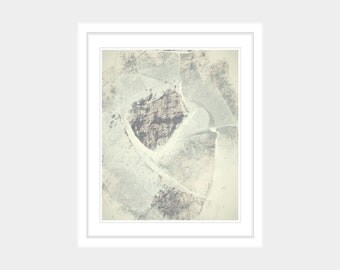 Neutral Beige Brown Cream Printable Art Print Faded Vintage Abstract Minimal Gallery Wall 6x8 8x10 9x12 11x14 12x16 16x20 Instant Download