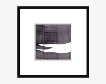 Square Black And White 197 Printable Art Print Abstract Lines Minimal 4x4 5x5 8x8 10x10 11x11 12x12 14x14 16x16 18x18 20x20 Instant Download