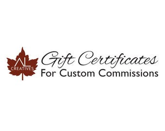 Gift Certificate for Custom Commissions