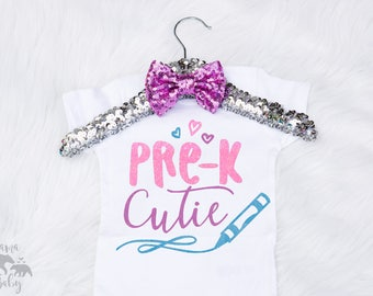 Pre-K Just Got A Lot Cuter Shirt, Pre-K Cutie Shirt, Pre Kindergarten Shirt, Toddler Pre K Shirt, Toddler School Shirt, Hello Pre K Shirt