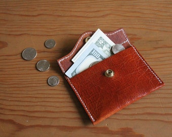 Leather Coin Purse, Leather Wallet, Coin Purse Leather, Change Purse, Leather Purse, Business Card Holder, Gifts for Her