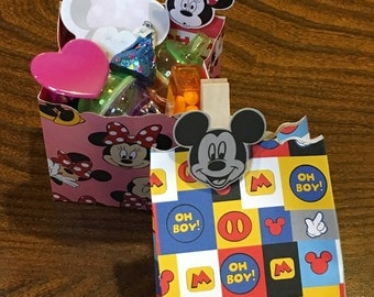 Mickey & Minnie Party Favors - Disney Themed Bags