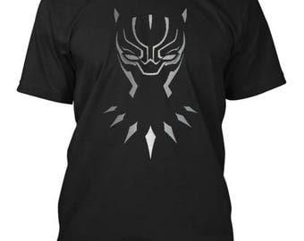 Black panther shirt | Etsy